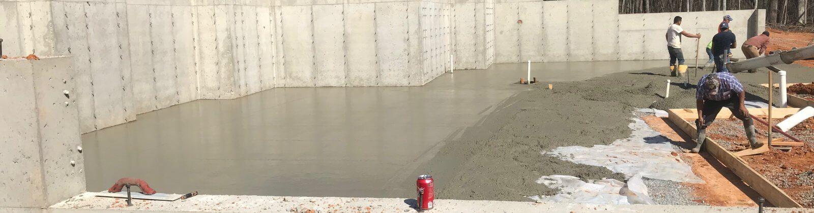 Oconee Concrete | Poured Wall